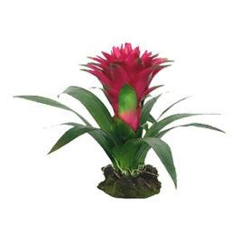 Guzmania rot Kunstpflanze
