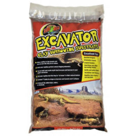 Excavator Lehmsubstrat